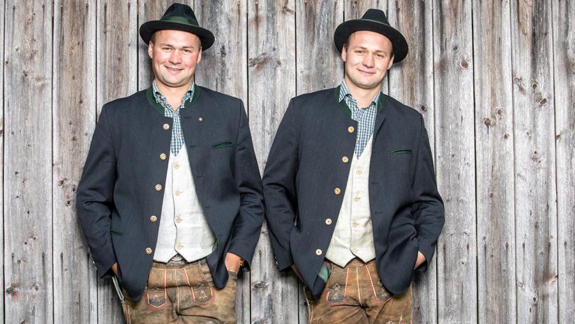 Die Brüder Andreas und Sebastian teilen sich nicht nur einen Beruf, sie woll...