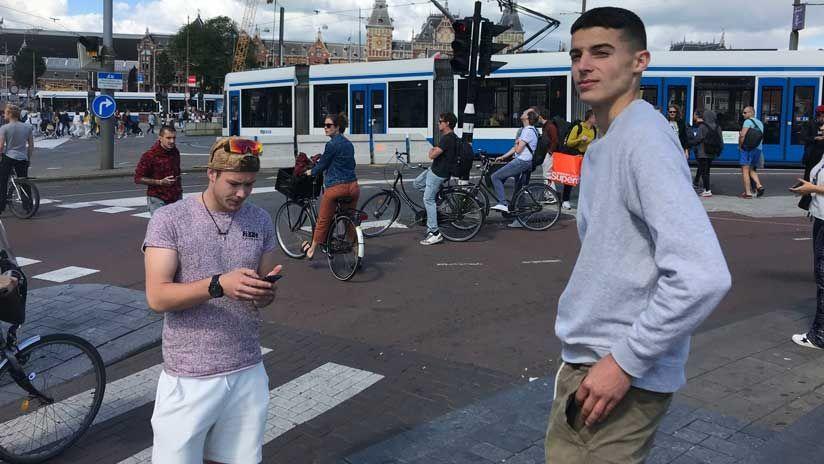 Niklas und Dominik