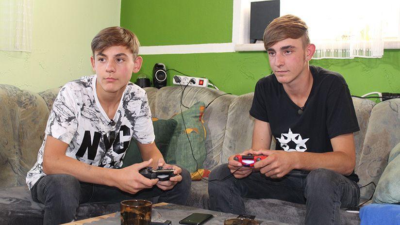 Fabian und Lukas