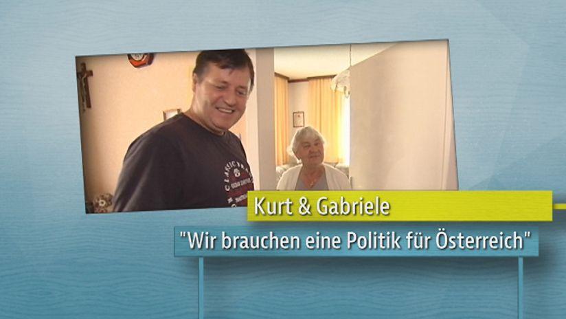 Herr Norbert und Frau Gabriele
