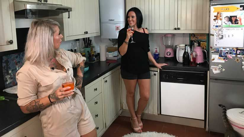Steffi und Nanny