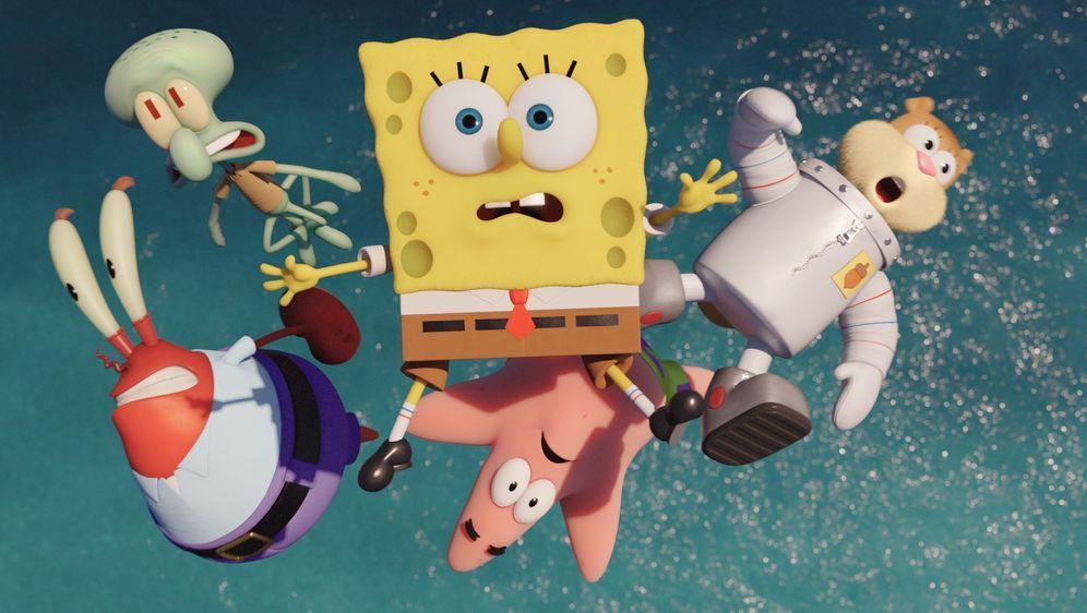 SpongeBob Schwammkopf - Schwamm aus dem Wasser - Bildquelle: Foo